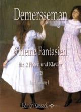 6 Kleine Fantasien, op. 28 Vol. 1 Jules Demersseman laflutedepan.com