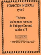 Philippe Durand - Theory, The Good Recipes, Volumen 2 - Partitura - di-arezzo.es