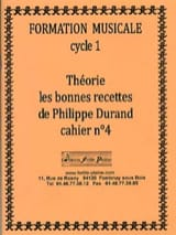 Philippe Durand - Theory, The Good Recipes, Volume 4 - Sheet Music - di-arezzo.co.uk