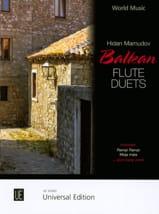 Balkan Flute Duets - 2 Flûtes Traditionnels Partition laflutedepan.com