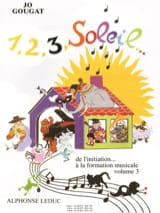 Jo Gougat - 1, 2, 3, Sun - Volume 3 - Sheet Music - di-arezzo.co.uk