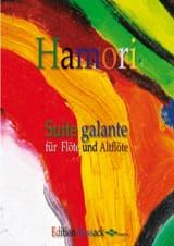 Suite Galante - 2 Flûtes Thomas Hamori Partition laflutedepan.com