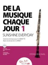 Stefan Bracaval - 毎日の音楽1 - クラリネット - 楽譜 - di-arezzo.jp