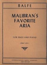 Malibran's Favorite Aria - Hautbois et piano laflutedepan.com