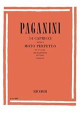 14 Caprices / Moto perpetuo - Clarinette laflutedepan.com