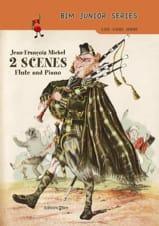 2 Scenes - Flûte et piano Jean-François Michel laflutedepan.com