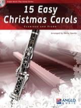 15 Easy Christmas Carols - Clarinet and piano Noëls laflutedepan.com