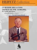 Antonio Bazzini - La Ronde des Lutins, op. 25 - Violon et piano - Partition - di-arezzo.fr