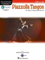 Astor Piazzolla - Piazzolla Tangos - Violoncelle solo - Partition - di-arezzo.fr