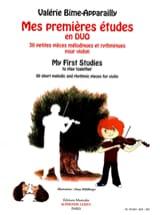 Valérie Bime-Apparailly - Mis primeros estudios en Duo - 2 violines - Partitura - di-arezzo.es