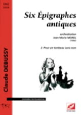 Claude Debussy - 6 Antique Epigraphs # 2 - Driver - Sheet Music - di-arezzo.com