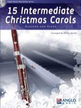 15 Intermediate Christmas Carols - Basson et piano laflutedepan.com