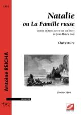 Anton Reicha - Natalie, Ouverture - Conducteur - Partition - di-arezzo.fr