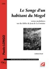 Le Songe d'un habitant du Mogol Paolo Longo Partition laflutedepan.com