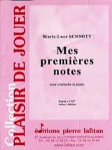 Mes premières notes Marie-Luce Schmitt Partition laflutedepan.com