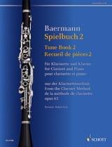 Carl Baermann - Spielbuch 2 - Clarinette et piano - Partition - di-arezzo.fr