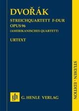 Quatuor à cordes, op. 96 Américain - Conducteur laflutedepan.com