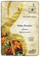 Jean-Michel Coquery - Notes Florales, volume 1 - Partition - di-arezzo.fr