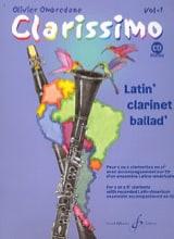 Olivier Ombredane - Clarissimo Vol. 1 - Clarinette - Partition - di-arezzo.fr