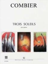 Trois Soleils Jérôme Combier Partition Guitare - laflutedepan.com