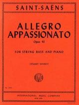 Camille Saint-Saëns - Allegro appassionato opus 43 en Si mineur - Partition - di-arezzo.fr