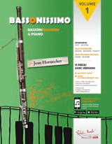 Bassonissimo Partition Basson - laflutedepan.com