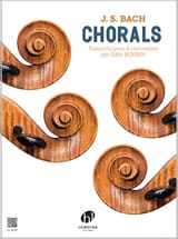 BACH - Chorals - 4 cellos - Sheet Music - di-arezzo.com