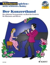 Rudolf Mauz - Der Konzertband - Clarinet and piano - Sheet Music - di-arezzo.co.uk