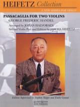 Passacaglia HAENDEL Partition Violon - laflutedepan.com