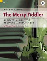 The Merry Fiddler - Violon et piano Joachim Johow laflutedepan.com