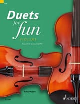 Duets for Fun - 2 Violons Partition Violon - laflutedepan.com
