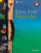 Easy Folk Recorder Partition Flûte à bec - laflutedepan.com