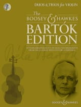 BARTOK - Duets and Trios for violins - Sheet Music - di-arezzo.com