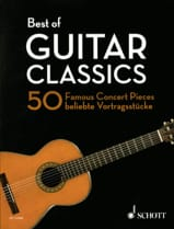 Best of Guitar Classics - Guitare Partition Guitare - laflutedepan