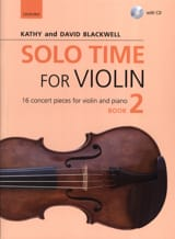 Solo Time for Violon 2 - Violon et piano Partition laflutedepan.com