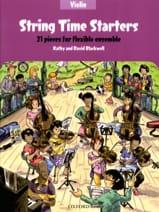 String Time Starters - Violon Partition Violon - laflutedepan.com