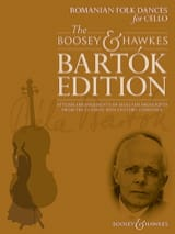 BARTOK - Romanian Folk dances - Cello and piano - Sheet Music - di-arezzo.co.uk