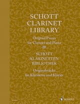 Schott Clarinet Library - Original Pieces - laflutedepan.com