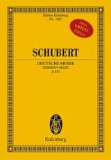 Deutsche Messe, D 872 - Conducteur poche laflutedepan.com