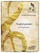 Christine Marty-Lejon - Tendres pensées - Violon et piano - Partition - di-arezzo.fr