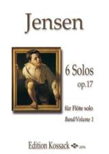 6 Solos op. 17 vol. 1 - Flûte seule laflutedepan.com
