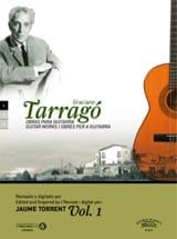Oeuvres pour guitare vol. 1 Graciano Tarrago Partition laflutedepan