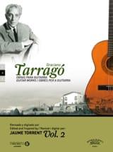 Graciano Tarrago - Oeuvres pour guitare vol. 2 - Partition - di-arezzo.fr
