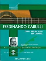 Studi e Preludi scelti - Guitare Ferdinando Carulli laflutedepan.com
