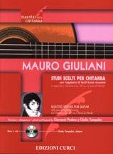 Mauro Giuliani - Studi scelti - Guitarra - Partitura - di-arezzo.es