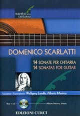 Domenico Scarlatti - 14 Sonates - Guitare - Partition - di-arezzo.fr