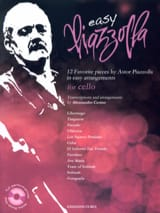 Astor Piazzolla - Easy Piazzolla - Violoncelle - Partition - di-arezzo.fr