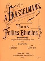 Alphonse Hasselmans - 3 Petites bluettes - Partition - di-arezzo.fr