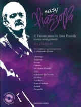 Astor Piazzolla - Easy Piazzolla - Clarinet - Sheet Music - di-arezzo.co.uk
