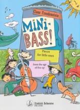 Mini Bass - Contrebasse Claus Freudenstein Partition laflutedepan